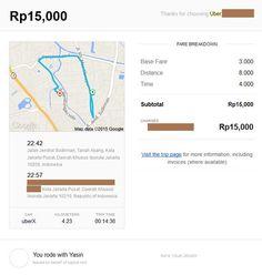 Uber Trip Jarak Dekat - rangkaiankata http://rangkaiankata.com/uber-kemudahan-solusi-transportasi-alternatif-di-jakarta.html
