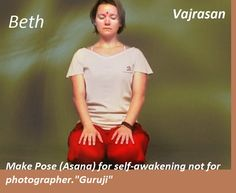 Vajrasan Visit @ http://paramyoga.org for more yoga learning