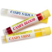 Crime Scene Candy Tubes: 3-Piece Pack