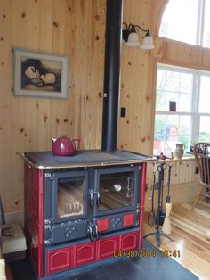 Wood Cook Stove by La Nordica