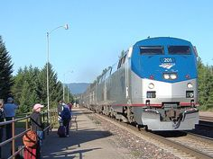 Ridden Amtrak...several times......great way to visit the grandchildren.  Again real soon!