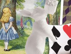 I pinned this from the Alice in Wonderland - Inspired Furniture & Accents event at Joss and Main!   #inwonderland