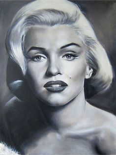 Marlen monroe | BOLLYWOOD vs HOLLYWOOD: PENCIL PORTRAIT: Marilyn Monroe, MM 1950