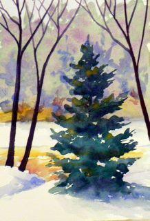 Water color by my beloved friend, Dennis Rafferty. It is so beautiful.