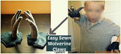 Didacticiel: Gants à griffes Wolverine pour un costume d'Halloween