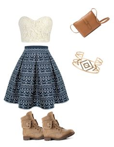 """""""Untitled #115"""" by geektree on Polyvore featuring Rumour London, J.Crew and Stella & Dot"""