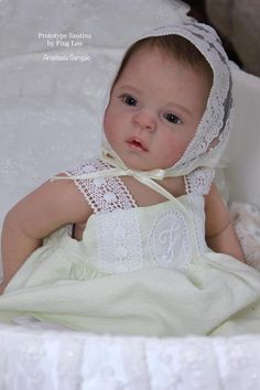 Santina by Ping Lau - Pre-Order - Online Store - City of Reborn Angels Supplier of Reborn Doll Kits and Supplies