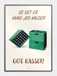 Far jokes - Se det er, hvad jeg kalder go'e kasser - Citatplakat. Good Humor, Funny Signs, Good Vibes, Wise Words, Haha, Diy And Crafts, Inspirational Quotes, Good Things, Sayings