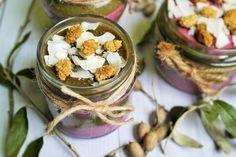 Make-Life-Green: Deser 2w1 czyli zielony pudding chia i różowy tofurnik na zimno