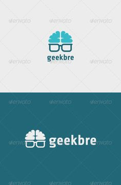Geek Brain Logo Template Vector EPS. Download here: https://graphicriver.net/item/geek-brain-logo/7162371?ref=ksioks