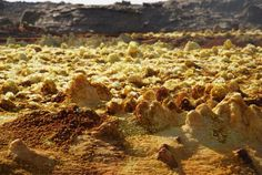 Danakil depression - north of Ethiopia