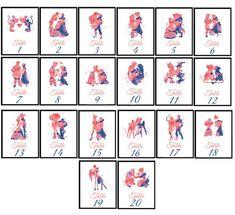 ♥ Numéros de Table de mariage Disney lot de 20 tirages ♥ ♥ UN TEMPS LIMITÉ SEULEMENT ! OFFRE SPÉCIALE ! PAYEZ 15 GET 20 ! ♥ Prix pour un tableau nombre est : A6 - 4,1 x 5,83 (105 x 148 mm) - 6,00 $ A5 - 5,83 x 8,27 (210 mm x 148 mm) - 11.00 $ ♥ MAINTENANT PAYE 15 RECEVOIR 20 ! ♥ ♥
