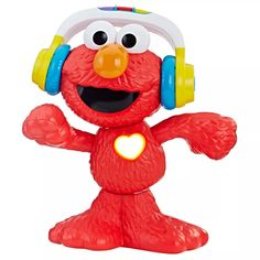Sesame Street Let's Dance Elmo: Elmo Toy That Sings and Dances, with 3 Musical Modes, Sesame Street Toy for Kids Ages 18 Months and Up - Toys