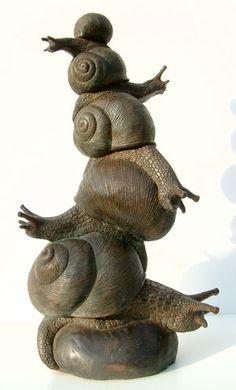 Un tas d'Escargot