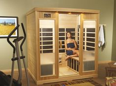 Finnleo® Far-Infrared Saunas are purpose-engineered to create the most soothing, full-body heat exposure available. Using the most advanced far-infrared technology, Finnleo's CarbonFlex® emitters generate even heat and wall to wall full body coverage. Infra Sauna, Infrared Sauna Benefits, Coast Spas, Traditional Saunas, Portable Sauna, Sauna Design, Bbq Accessories, Common Area, Home Interior Design