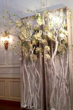 Very clever idea! Flower with branches