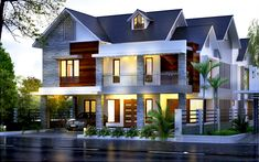 Best home exterior design plan Construction Cost, Vacation Places, Modern House Design, Architecture, Ground Floor, Exterior Design, Living Room Designs, Home Goods, House Plans