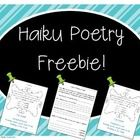 If you are looking for a fun, comprehensive poetry unit (where students create a final poetry book portfolio piece) then you must see my Poetry Unit: Writer's Workshop Bundle! Here is a freebie from the unit, for some spring time poetry writing...Haiku Poems!  Thanks for your feedback, and you can visit my blog for more information on how I do my poetry unit and an Author's Tea in the classroom.