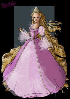 barbie rapunzel - Google Search