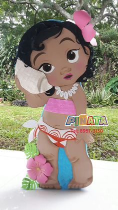 Piñata Moana Fiesta Moana Decoración Moana Moana Birthday Outfit, Disney Princess Birthday Party, Moana Birthday Party, First Birthday Parties, Moana Themed Party, Moana Party, Festa Moana Baby, Birthday Party Centerpieces, Party Items