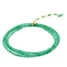 Anne Sportun Chrysoprase Wrap Bracelet
