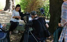 La televisiva giapponese intervista l'Arch. Caterina Angela Contu, da anni impegnata nella Progettazione del Verde e nello studio dei Giardini dell'Antichità… raccontati nel suo libro, prossimamente in uscita