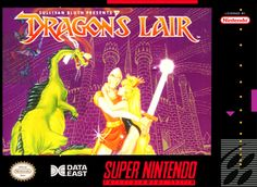 Dragon's Lair for SNES @ www.thegamingwarehouse.com/dragons-lair-for-snes-cartridge-only/
