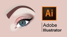 How to draw a realistic human eye step-by-step | Adobe Illustrator