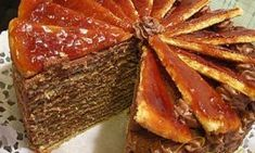 Dobos-cake recipe - A very delicious Serbian-Hungarian traditional cake served on the important family celebrations like weddings, Christmas, New Year, etc. Croatian Recipes, Hungarian Recipes, Dobos Torta Recipe, Serbia Recipe, Hungarian Cuisine, Hungarian Food, Serbian Food, European Cuisine, Cake Recipes