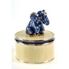 FABERGE ELEPHANT TRINKET BOX