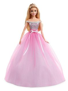 Looking for Barbie Birthday Wishes Dolls? Immerse yourself in Barbie history by visting the Barbie Signature Gallery at the official Barbie website! Mattel Barbie, Barbie Dress, Barbie Clothes, Barbie Style, Jupe Tulle Rose, Pink Tulle, Barbie Website, Barbie Birthday, The Perfect Girl