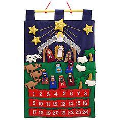 Christmas Advent Calendar at Bronner's. I love this.