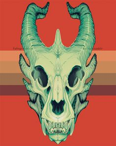 Dragon Skull by ashbits on DeviantArt