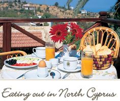 Places to eat in North Cyprus with delicious cuisine. Learn about various Cypriot cuisine, lahmacun, yalanci dolma, sigara borek, and lamb in the oven Kleftiko. Cypriot Food, North Cyprus, Limassol, Beautiful Islands, Places To Eat, Restaurant, Fancy, Sun, Table Decorations