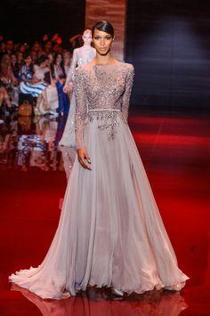Défile Elie Saab Haute couture Automne-hiver 2013-2014