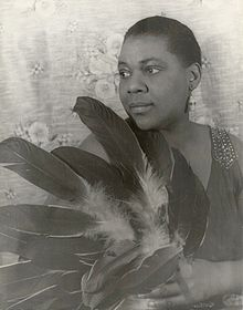 Bessie Smith (April 15, 1894 – September 26, 1937) was an American blues singer.    Nicknamed The Empress of the Blues, Smith was the most popular female blues singer of the 1920s and 1930s.[1] She is often regarded as one of the greatest singers of her era and, along with Louis Armstrong, a major influence on subsequent jazz vocalists.
