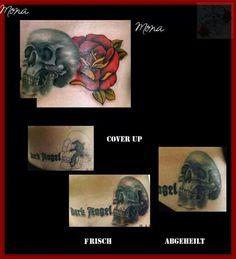 Cover Up Schädel Skull