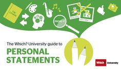 Which? University personal statement graphic