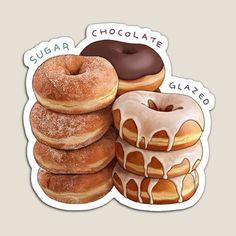 Desserts Drawing, Dessert Illustration, Cute Food Art, Food Sketch, Cute Food Drawings, Watercolor Food, Food Painting, Food Wallpaper, Food Illustrations