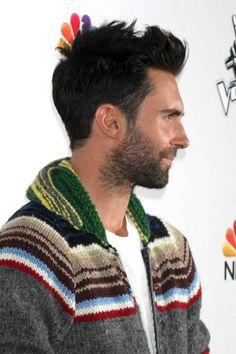Adam Levine #shortmen'shairstyle