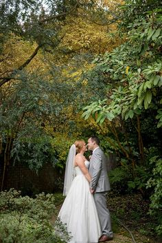 Swooning over this gorgeous snap of the bride and groom.