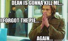 Dude, where's the pie!?