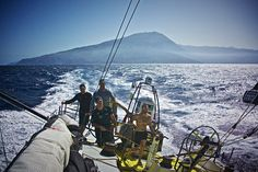 Leg 1 on Team Brunel, passage of Cabo Verde