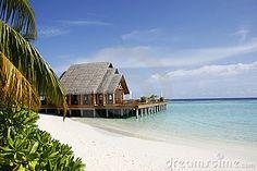 Tropical Beach Villa by Bukitdamansara, via Dreamstime