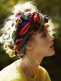 Saç Eşarbı | Ben ve Moda