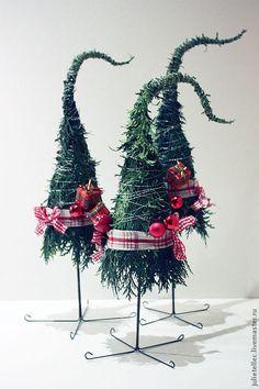 Купить Елочки лесные - зелёный, оригинальная елка, новогодний сувенир, подарок, украшение дома