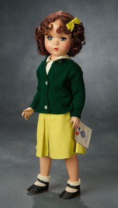 CREAM  SIDE BUTTON SHOES AND SOCKS FOR 8 INCH DOLL  GINNY ALEX