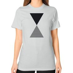 Time Unisex T-Shirt (on woman)