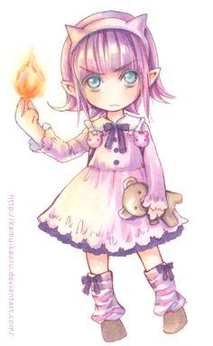 LoL-Annie by kamuikaoru.deviantart.com