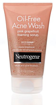 Neutrogena Oil Free Acne Wash Pink Grapefruit